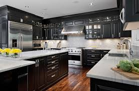 black cabinets kitchen ideas kitchens with black cabinets pictures and ideas