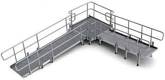 Wheelchair Ramp Handrails Modular Wheelchair Ramp