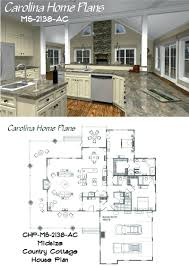 great home plans midsize country cottage house plan with open floor layout great