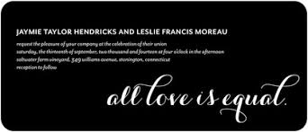 same wedding invitations wedding paper divas launches lgbt wedding invitation collection