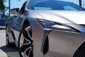 lexus lc in blue 2018 lexus lc 500h review autoguide com news
