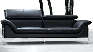 canapé convertible 3 places design sofa cuir noir cleanemailsfor me