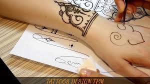 henna designs on hand step by step henna tattoo tutorial i