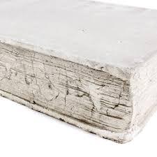 cast stone book large u2013 laurier blanc unique home decor from