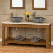 Floating Vanity Plans Superior Floating Granite Countertop 5 Bathroom Varnished Teak