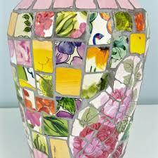 Large Mosaic Vase Best Shabby Mosaic Products On Wanelo
