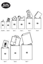 Envelopes Size Jiffy Bag Size Guide Aos Online