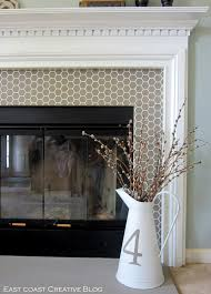 Tiled Fireplace Wall by Stick Tile For Fireplaces Storm Hunter