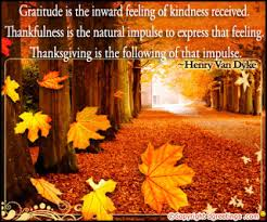 thanksgiving greetings quotes like success