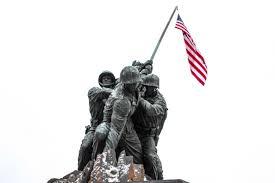 Flag Iwo Jima Iwo Jima Memorial U0026 Harlon Block History Hiker