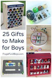 25 more gifts to make for boys