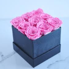 boxed roses preserved roses fleur sense