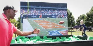 the sports fan zone nfl network fan zone experience inphantry