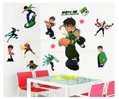 ben 10 wall stickers wall murals ideas free shipping by dhl giant size minnie wall stickers