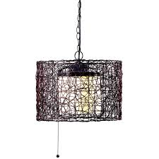 Home Decor Stores Mn by Kenroy Home 93393brz Tanglewood 1 Light Outdoor Pendant Blackened