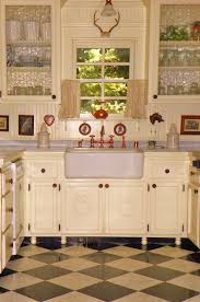 ann merie cottage kitchen ideas with white top mount farmers sinks