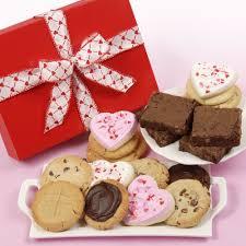 gift cookies cookies and brownies gift box