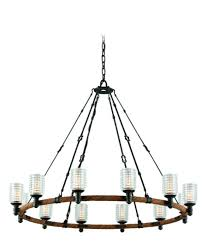 Spanish Revival Chandelier Troy Lighting F4157 Embarcadero 42 Inch Wide 12 Light Chandelier