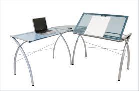 Officemax Glass Desk Kidney Shaped Desk Ikea Affordable Image Of L Shaped Desk White