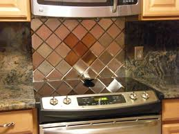 copper tile backsplash for kitchen 20 best stainless steel tiles images on stainless