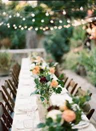 How To Decorate A Backyard Wedding Best 25 Outdoor Wedding Tables Ideas On Pinterest Brides