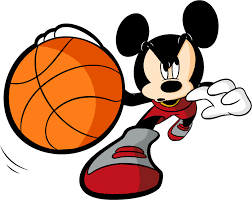 basketball clipart images mickey mouse basketball clipart clipartxtras