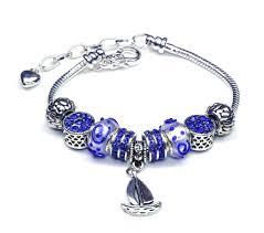 bracelet pandora silver images Italian sterling silver murano glass charms with bracelet pandora jpg