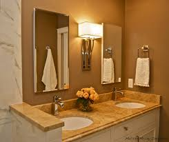 install a power strip under your upper cabinets bathroom vanity