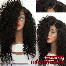 jerry curl hairstyle free shipping 16 28 inch black jerry curl wig 100 heat resisitant