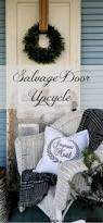 salvage door holiday upcycle and when to leave well enough alone