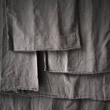 gray linen bedding pure linen sheet set soft cool summer 4 pcs