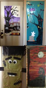 halloween door decorating ideas office image yvotube com