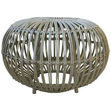 round rattan side table rattan side tables 81 for sale at 1stdibs