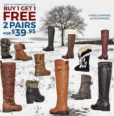 justfab s boots just fab buy 1 get 1 free boots