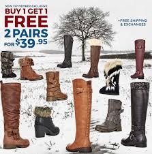 justfab s boots just fab buy 1 get 1 free boots mojosavings com