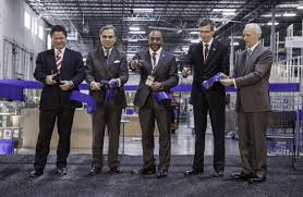 bmw ceo bmw group opens new regional parts distribution center in