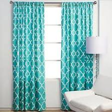 Teal Curtains Scenario Voile Tab Top Panels Curtains U0026 Drapes Brylanehome