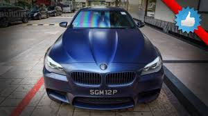 f10 bmw m5 in frozen blue super cool matte color youtube