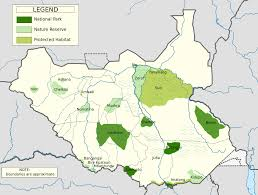 Sudan Africa Map by Mapa Project Blog Archive Spotlight On Boma National Park