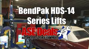 bendpak hds 14 4 post car lift by asedeals youtube