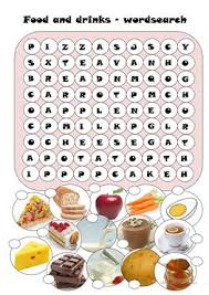 food and drinks worksheet the best and most comprehensive worksheets