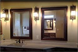 bathroom mirrors houston framed mirrors buy custom mirrors texas custom mirror