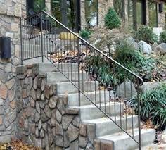 exterior iron rails