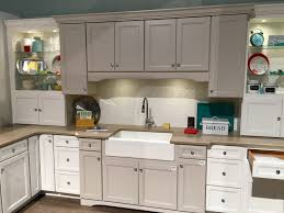 kitchen style white gray flat cabinets stainless steel high end