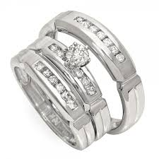wedding band sets for him and cheap wedding ring sets for him and williams