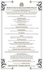 milleridge inn thanksgiving this year u0027s mother u0027s day grand buffet menu available here at the