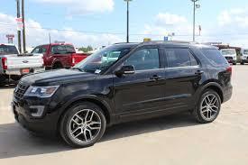 Ford Explorer Black - 2017 ford explorer 4 door 4wd suv standardequipment