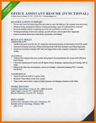 resume functional summary eliolera com