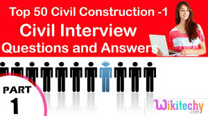 Resume Format Pdf For Eee Engineering Freshers by Top 30 Civil Construction 1 Technical Interview And Questions