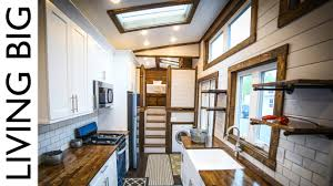 this 40ft tiny house is a mansion on wheels youtube